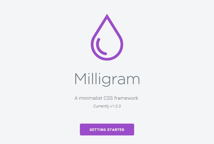 milligram-css-framework